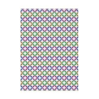 七宝柄 Stickable tarpaulin