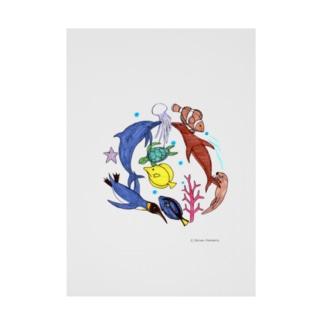 大介の水族館 Stickable poster