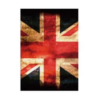 GRUNGE-flag_UK Stickable poster
