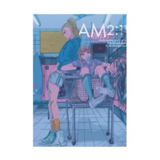 AM2:11 Stickable poster