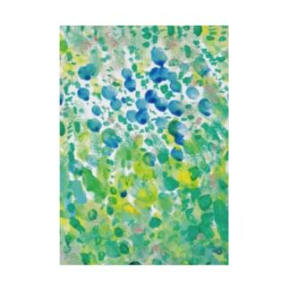 ブルーベリーの森 Stickable poster