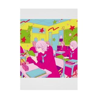 女子校 Stickable poster