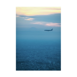 Airplane Stickable poster