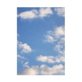 空の写真シリーズ 青空ちゃん 3 Stickable poster