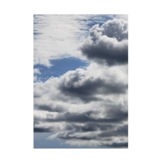 空の写真シリーズ 青空ちゃん 5 Stickable poster