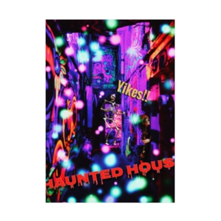 haunted HOUSE Stickable poster