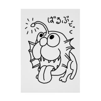 恐竜シリーズ(バルブドック) Stickable poster