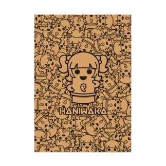 ハニワカちゃん2021 Stickable poster