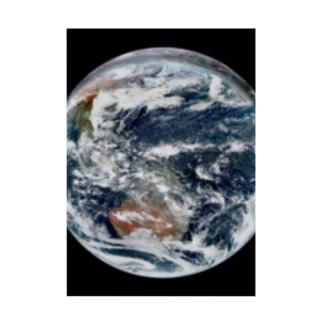 地球 Earth 宇宙のふしぎ Stickable poster