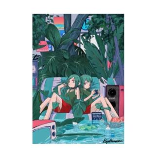 Summer Room Stickable poster