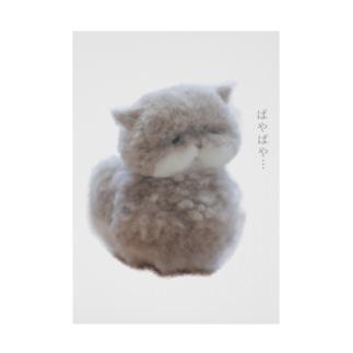 ぱや猫さん Stickable poster