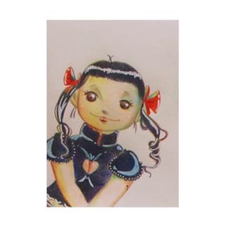 恋する乙女万代 Stickable poster
