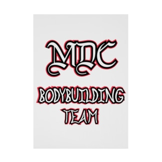 MDC BODYBUILDING TEAM Stickable poster