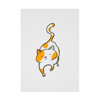 歩く猫 Stickable poster