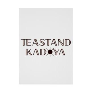 Teastand kadoya Stickable poster
