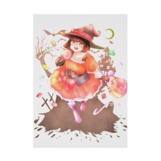 ハッピーハロウィン〜だ〜!! Stickable poster