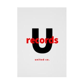 ユナイテッドレコード Stickable poster