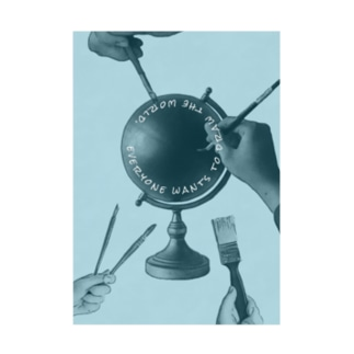 創造世界 Stickable poster