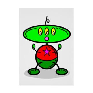 アレン・ザ・エイリアン Allen Alien Stickable poster