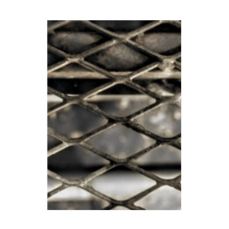 wire mesh Stickable poster