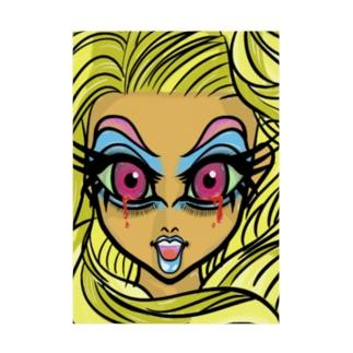 髪の長い血涙姫 Stickable poster