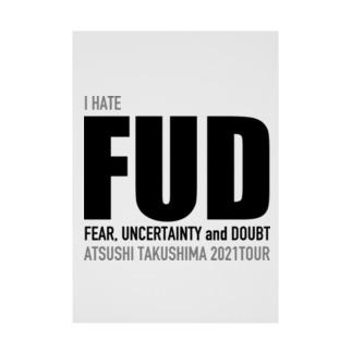 FUD Stickable poster