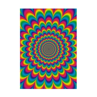 psychedelic-02 Stickable poster