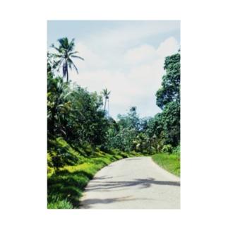 ミクロネシア:ポンペイ島の風景写真 Micronesia: view of Pohnpei Stickable poster