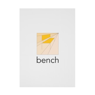 bench-t Stickable poster