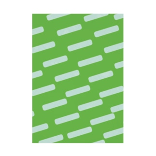 Green Stickable poster