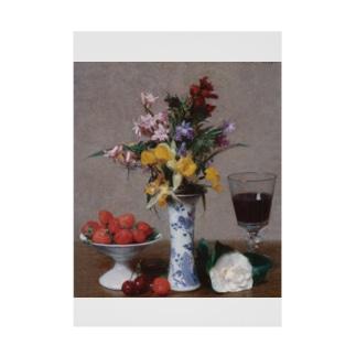 世界の絵画アートグッズのアンリ・ファンタン=ラトゥール 《婚約の花束》 Stickable Poster