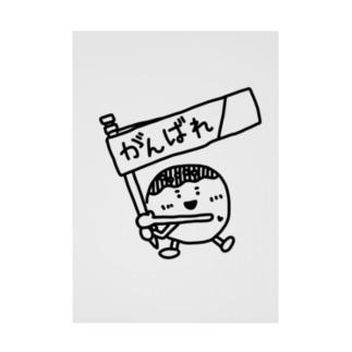がんばれ!たこ焼ちゃん! Stickable poster