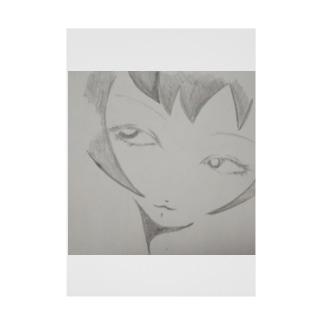 K4(けーよん)のゆらり Stickable poster