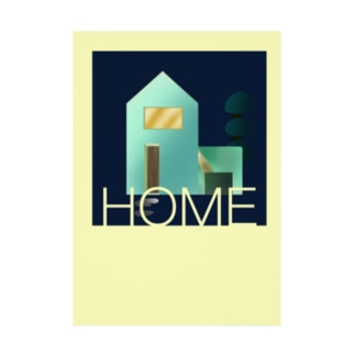 HOME Stickable poster