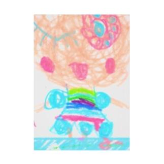 ユメカワガール Stickable poster