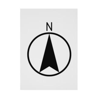 NORTHMARK Stickable poster