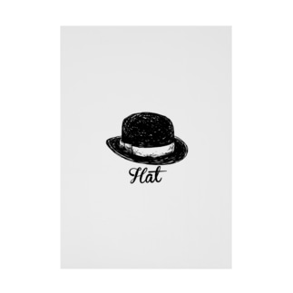 Hat-ハット- Stickable poster