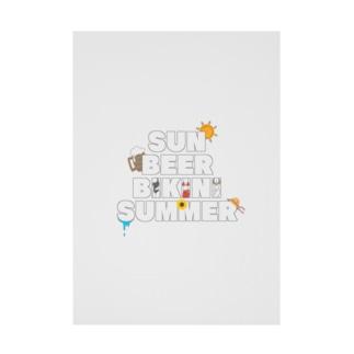夏のごきげん Stickable poster