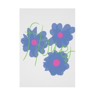 flower Stickable poster