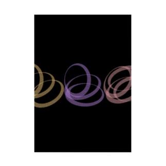 circle Stickable poster