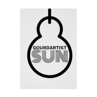 gourdartist.sun Stickable Poster