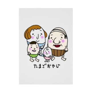 たまごおやじ Stickable poster