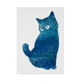 宇宙猫 Stickable poster