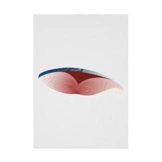 鯖の切り身 Stickable poster