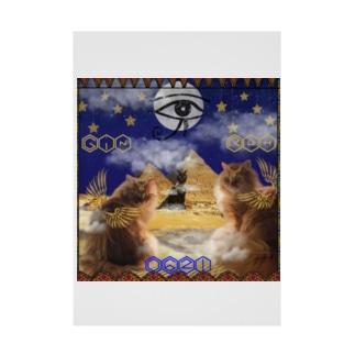 エジプト神話のジンとラム🌕𓀀𓀁𓀃𓀌♡♡ Stickable poster