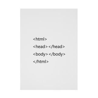 HTML基本タグ Stickable poster