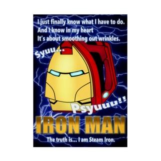 Iron(アイロン) Man Stickable poster