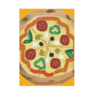 ピザ Stickable poster