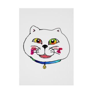 化け猫まであと2ヶ月 Stickable poster