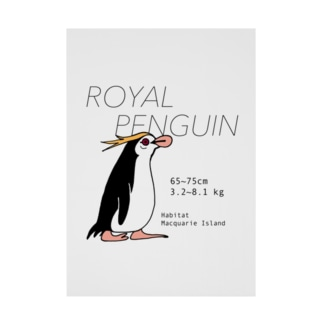 ロイヤルペンギン Stickable poster